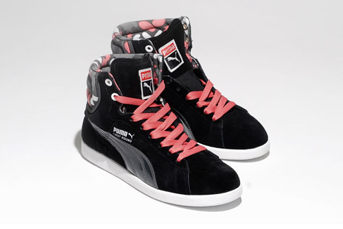 puma high tops womens. going back to the archives of 1987, puma has just released first round scroll 80. these women\u0027s high-tops will feature vivacious graphics on collar, puma high tops womens
