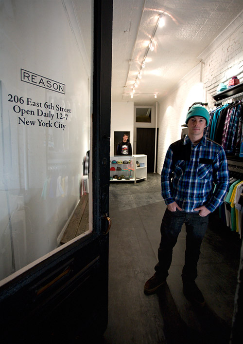18dfc483ce New York City-based label Reason Clothing has opened their doors to Manhattan s  East Village.