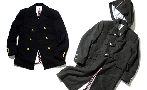 thom browne 2008 fallwinter outerwear selections