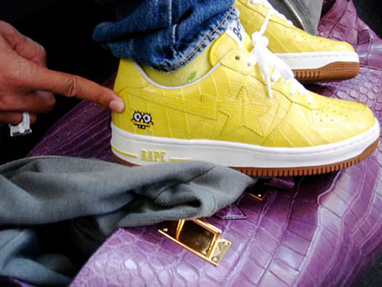 pharrell-williams-bape-croc-spongebob-bapesta-1