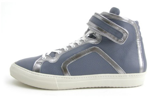 PIERRE HARDY Primavera/Verão 2009 Leather Hi-Top Sneaker