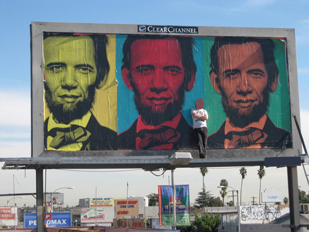ron-english-inauguration-billboard-los-angeles-1