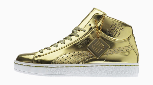 Undefeated x PUMA 24k Mid Gold Version - A Closer Look  e938d87f44