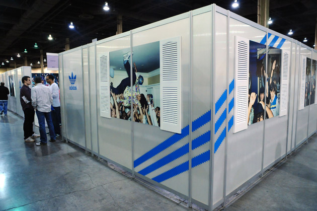 Exhibition Stand Russia : Adidas originals by fall winter preview