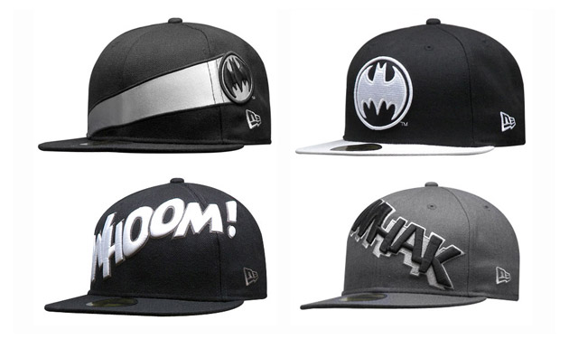 dc-comics-new-era-batman-caps DC Comics x New Era Batman Monochrome Collection
