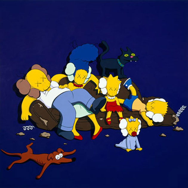 "KAWS ""The Long Way Home"" Exhibition 