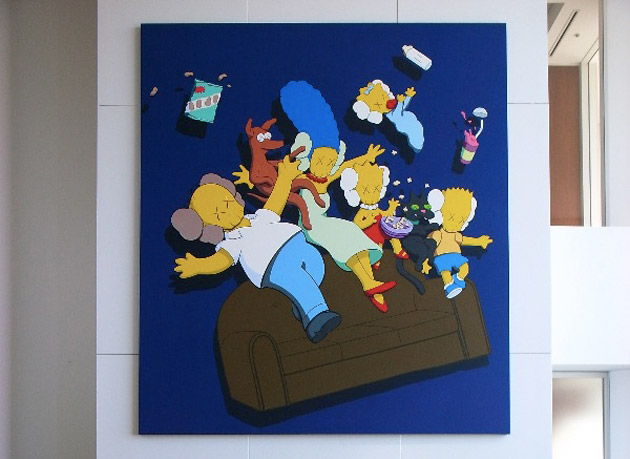 nigo-simpsons-kaws-kimpsons-painting-1