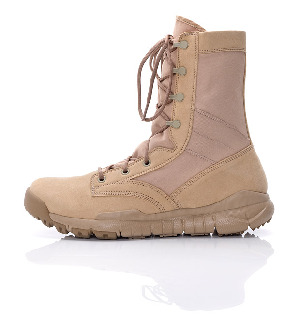 NIKE combat boot for the little soldier in all of us.