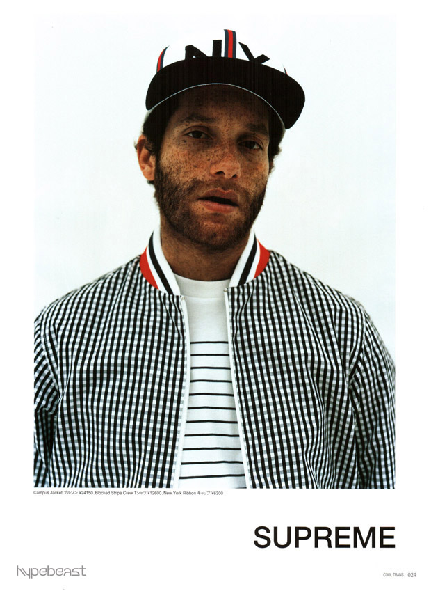 Supreme 2009 Spring/Summer Lookbook with A-ron in Cool ...