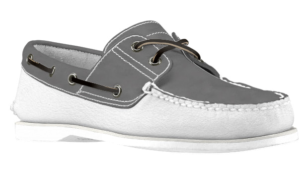 timberland build your own boat shoe