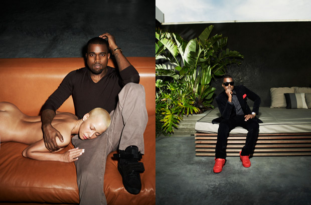 amber rose and kanye west pictures. kanye-west-steve-shaw-amber-