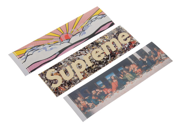 gives us a look into their personal collection of Supreme stickers that...