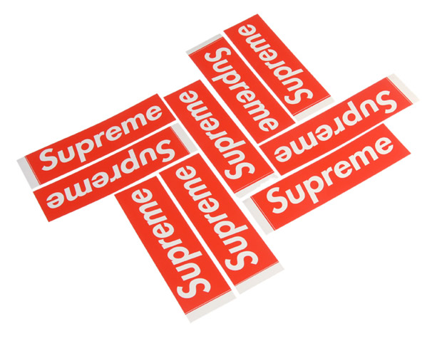 Supreme Sticker Archive.