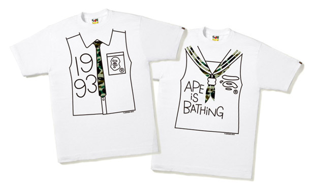 a bathing ape 2009 may tees 1 A Bathing Ape 2009 May T Shirts New Releases