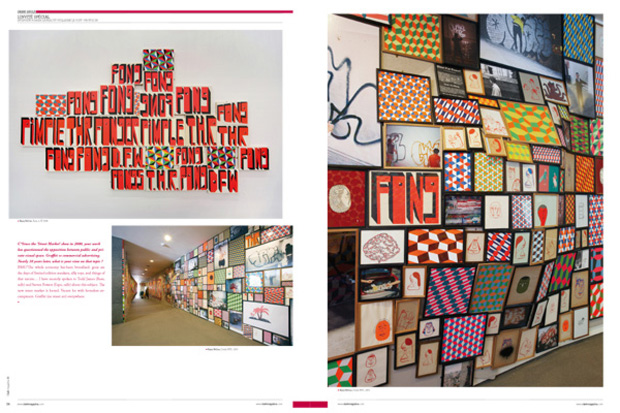 clark magazine issue no 36 featuring barry mcgee