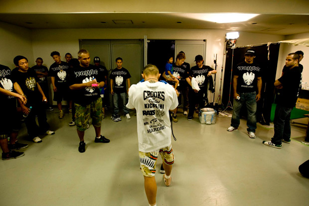 Kid Yamamoto warming up by David Lin