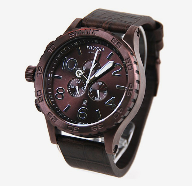 nixon-51-30-chrono-leather-all-brown-1
