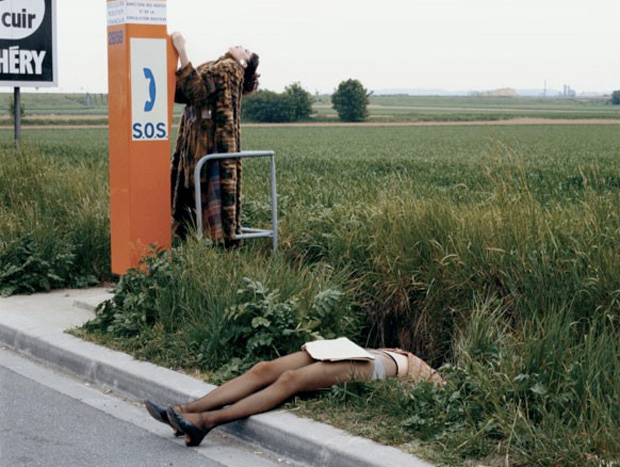unseen guy bourdin exhibition 04 Unseen Guy Bourdin Exhibition at The Wapping Project (NSFW)