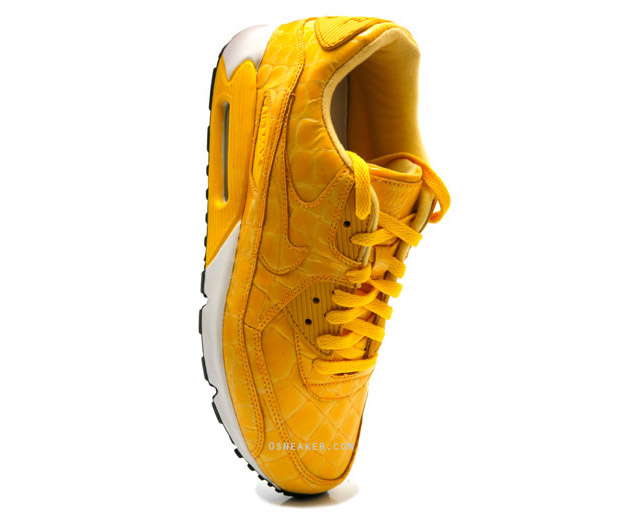 nike-air-max-90-yellow-croc-skin-sneaker