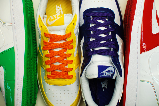 nike high tops rainbow. The shoes coming in both high
