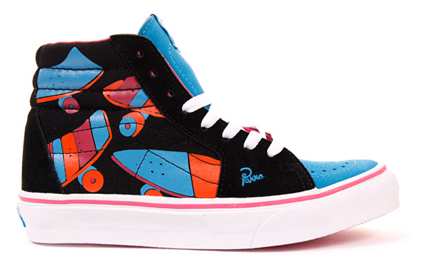 parra vans sneakers 2 Parra x Vans Sneaker Collection