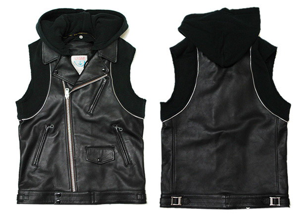 Undercover Leather Vest | HYPEBEAST