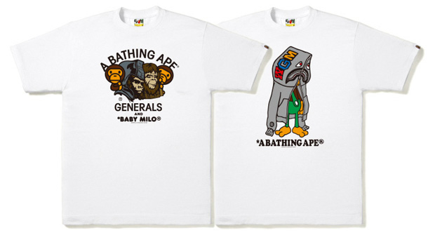a bathing ape 2009 ss tshirts 1 A Bathing Ape 2009 Spring/Summer T shirts July Releases