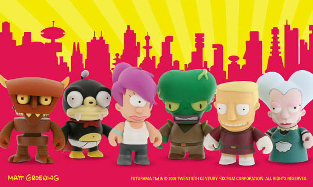 futurama-kidrobot-mini-series