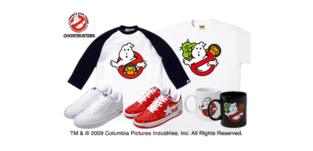 ghostbusters a bathing ape capsule collection Ghostbusters x A Bathing Ape Capsule Collection