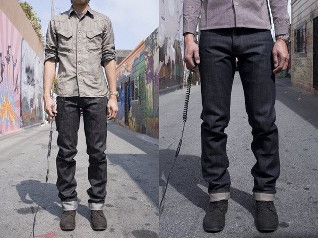 3sixteen nihon menpu black selvedge denim 2 3sixteen Nihon Menpu Black Selvedge Straight Leg SL 200x Denim
