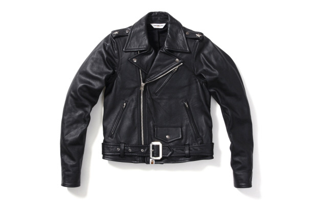 bape bathing ape leather riders jacket 1 A Bathing Ape Leather Riders Jacket