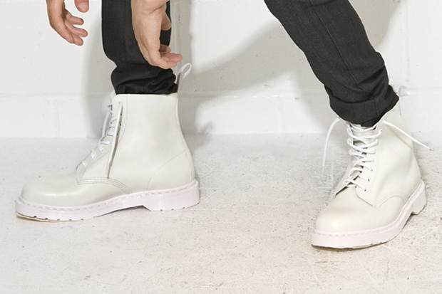 Dr. Martens White Combat Boot | HYPEBEAST