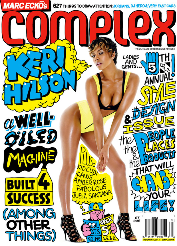 keri hilson complex so me 2 Complex Magazine: 2009 August/September Cover featuring Keri Hilson