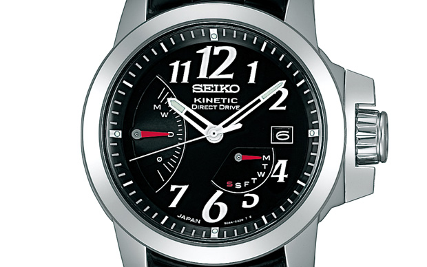 Seiko brightz phoenix kinetic direct drive watch hypebeast for Watches direct