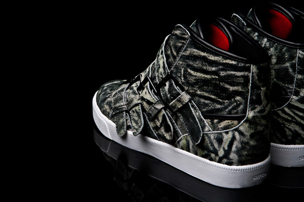steve aoki supra wildlife strapped sneakers 1 Steve Aoki x Supra Wildlife Strapped Sneakers