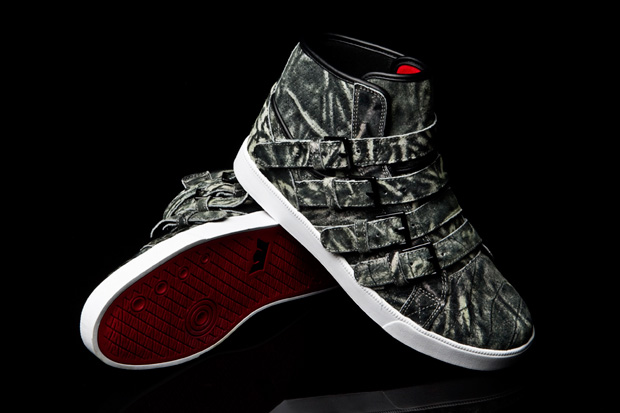 steve aoki supra wildlife strapped sneakers 2 Steve Aoki x Supra Wildlife Strapped Sneakers