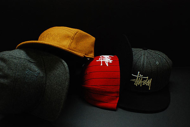 stussy 2009 fall winter hats caps 1 Stussy 2009 Fall/Winter Snap Back & 5 Panel Caps