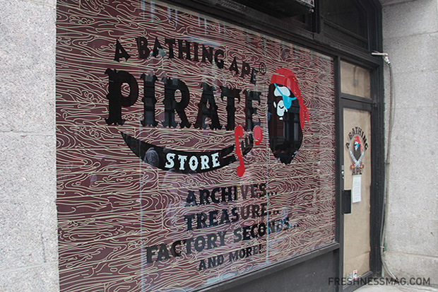 A Bathing Ape Pirate Store Opening NYC | HYPEBEAST