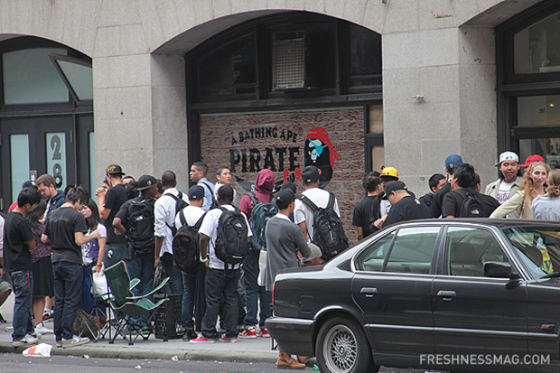 A Bathing Ape Pirate Store Opening NYC  a2bb19905761