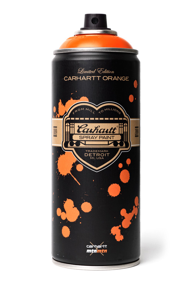 carhartt x montana colors limited edition spray can hypebeast. Black Bedroom Furniture Sets. Home Design Ideas