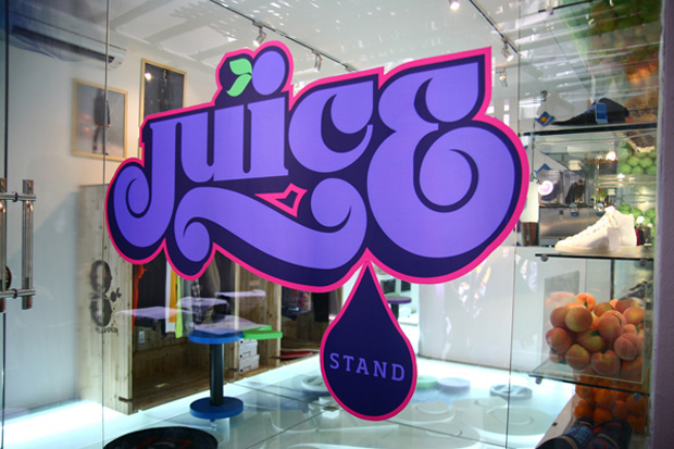 juice stand pop up store 1 Juice Stand Pop up Store