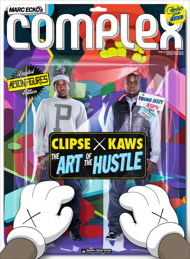 complex magazine clipse kaws 2009 octobernovember issue