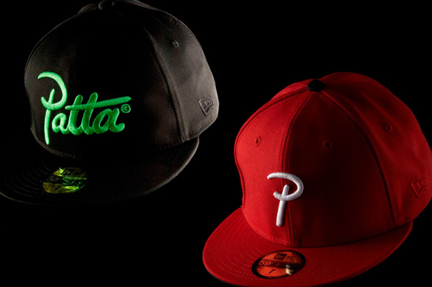 patta-new-era-logo-caps