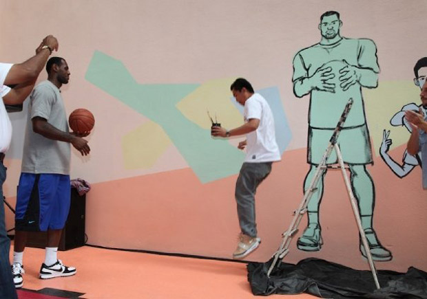 pigalle nike basketball court paris