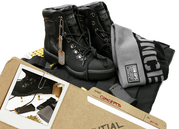 mitchell ness timberland concepts conops collection