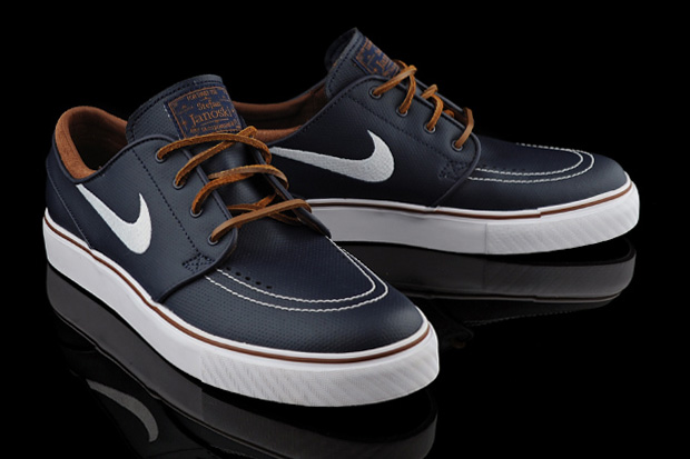 premium selection cb72e 4df74 nike-sb-stefan-janoski-obsidian-leather