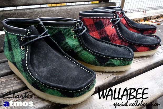 atmos-clarks-buffalo-plaid-wallabee-pack