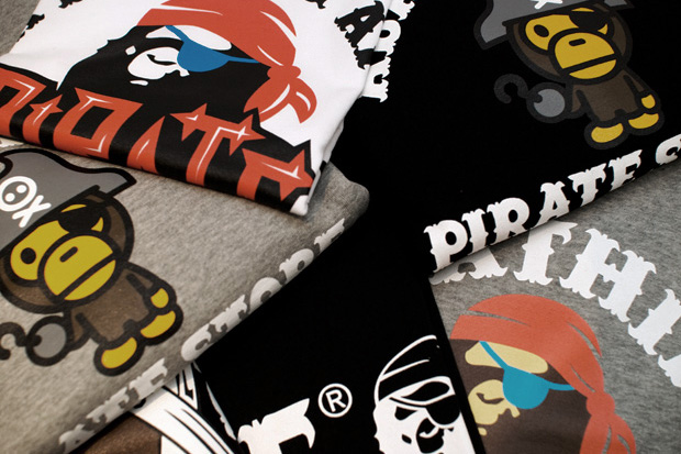bape bathing ape pirate collection november 1 A Bathing Ape Pirate Collection   New Releases