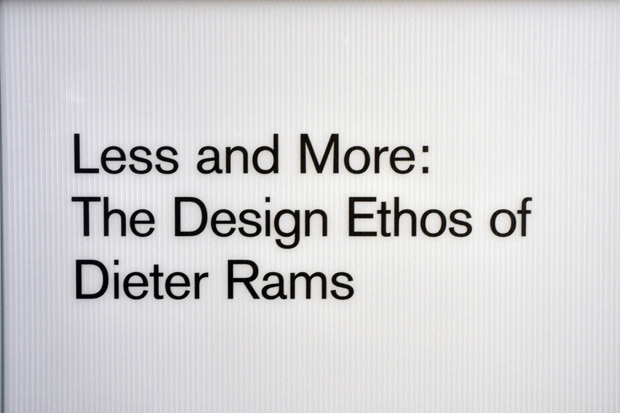 dieter rams less and more exhibition design museum 23 Dieter Rams Less and More Exhibition @ Design Museum