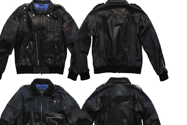 dr-romanelli-clot-levis-leather-denim-jacket